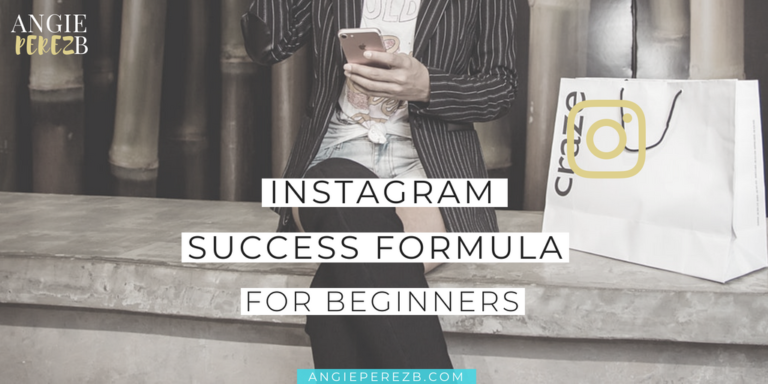 Instagram Success Formula For Beginners