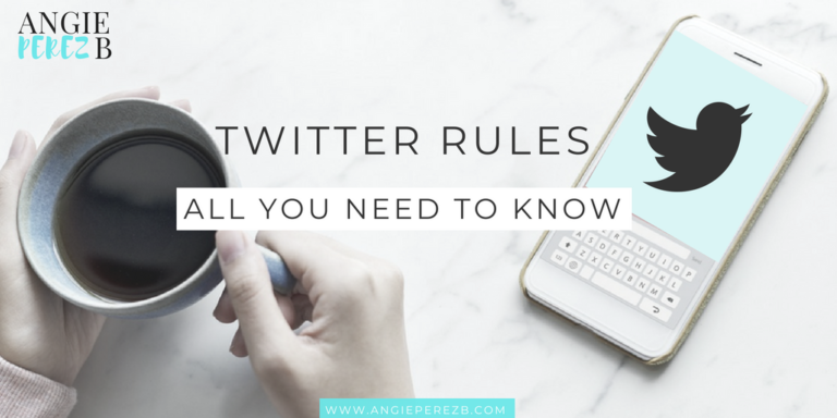 Twitter Rules All you need to know