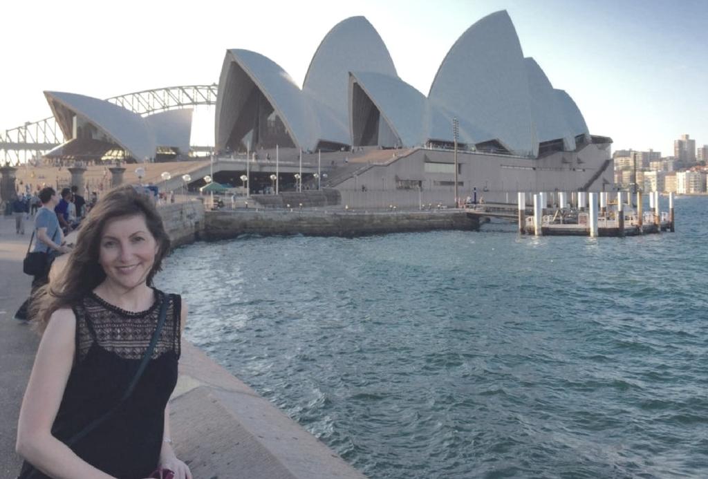 Angie Perez Blazquez in Sydney