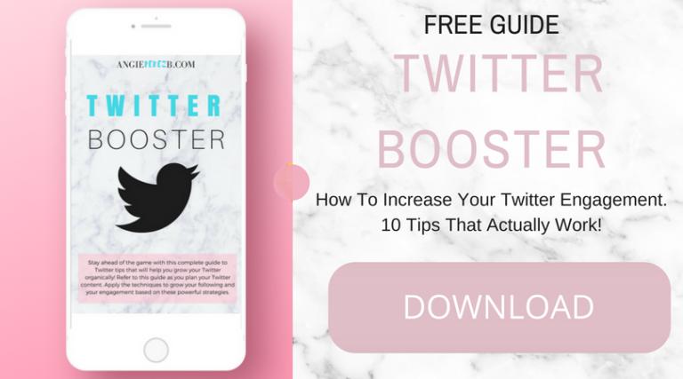 Twitter Booster Twitter Tips