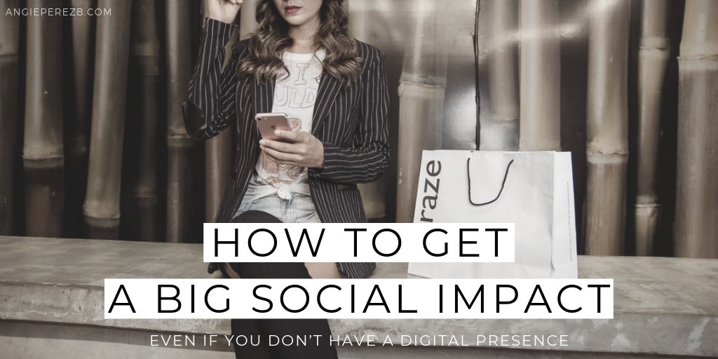 How TO get A Big Social Media Impact