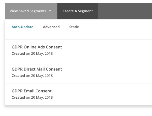 GDPR HOW TO SEGMENT YOUR EMAIL LIST