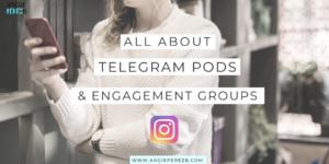 Telegram Groups and Bots • Angie Perez B