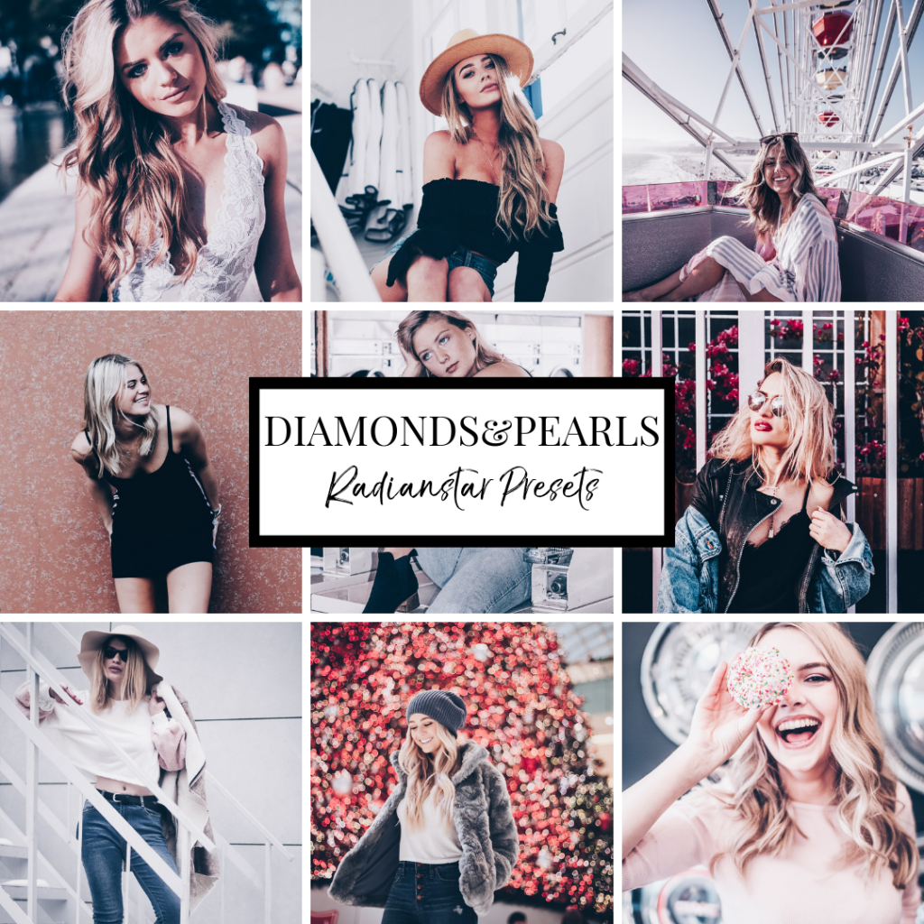 Lightroom Preset Diamonds Pearls