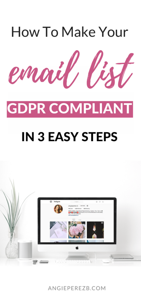 email list GDPR Compliant