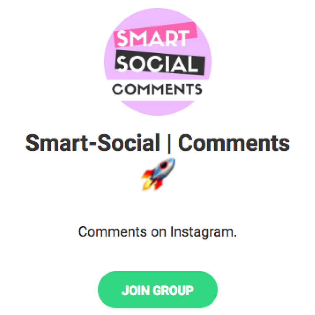 Telegram Pods Instagram Pod Smart Social Comments