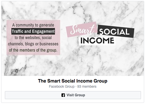 Facebook Group Smart Social Income