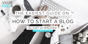 The Easiest Tutorial To Start A WordPress Blog on Bluehost
