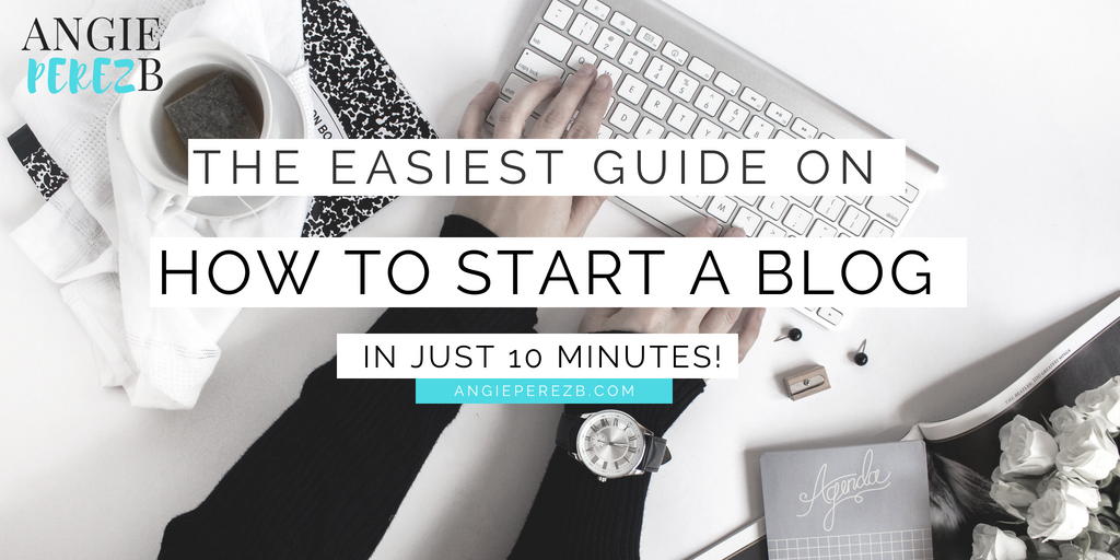 The easiest tutorial on How to start a blog in 10 minutes